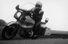 Motorrad für den Notarzt